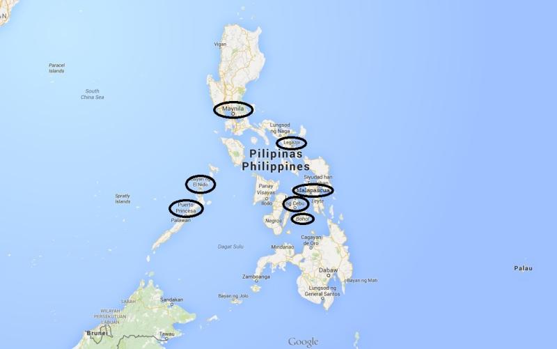 Filipini prenočišča
