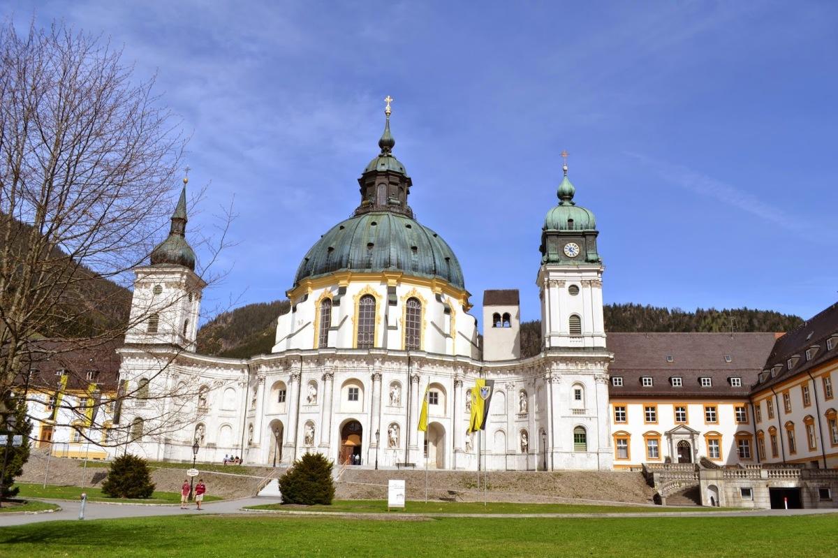 NEMČIJA: Benediktinski samostal Ettal (1. dan)