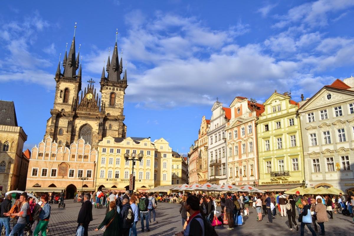 PRAGA: Načrt potovanja z avtomobilom (3 dni)