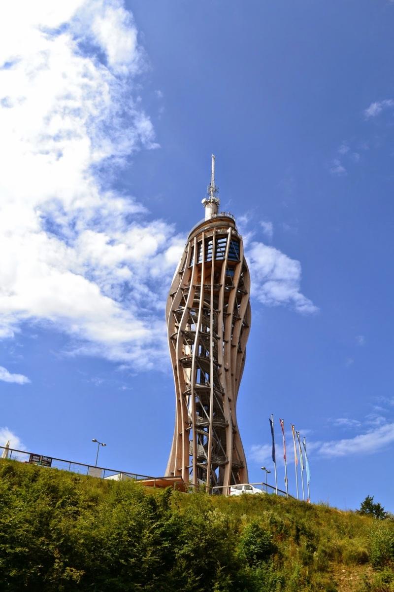 AVSTRIJA: Stometrski razgledni stolp Pyramidenkogel