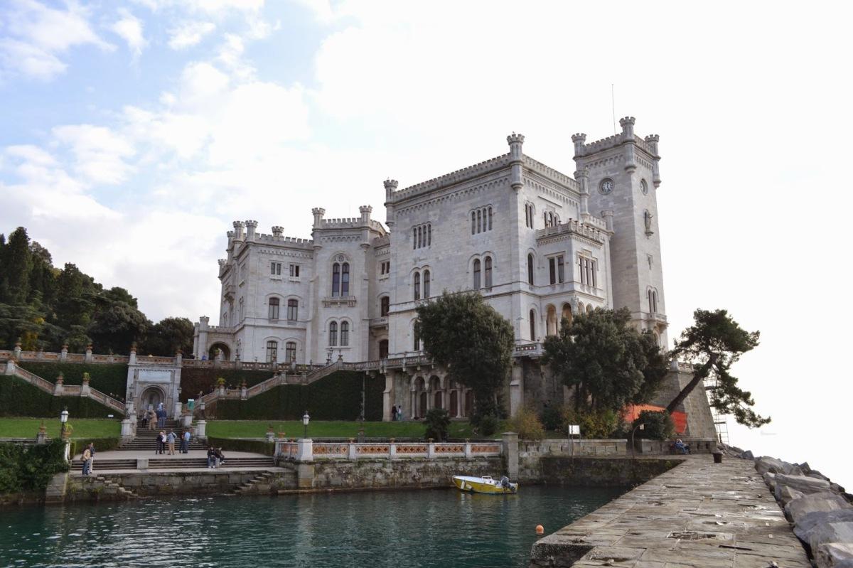 ITALIJA: Romantičen grad Miramare