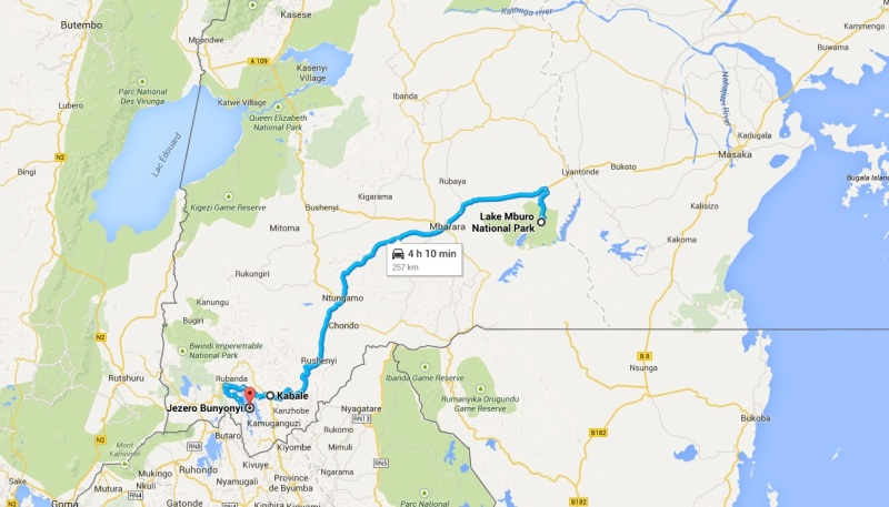 Uganda_Lake Mburo NP - Lake Bunyonyi (3. dan)