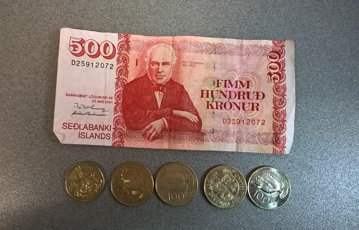 Islandija denar