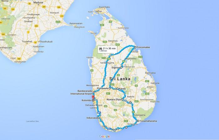 Šrilanka_celotno potovanje