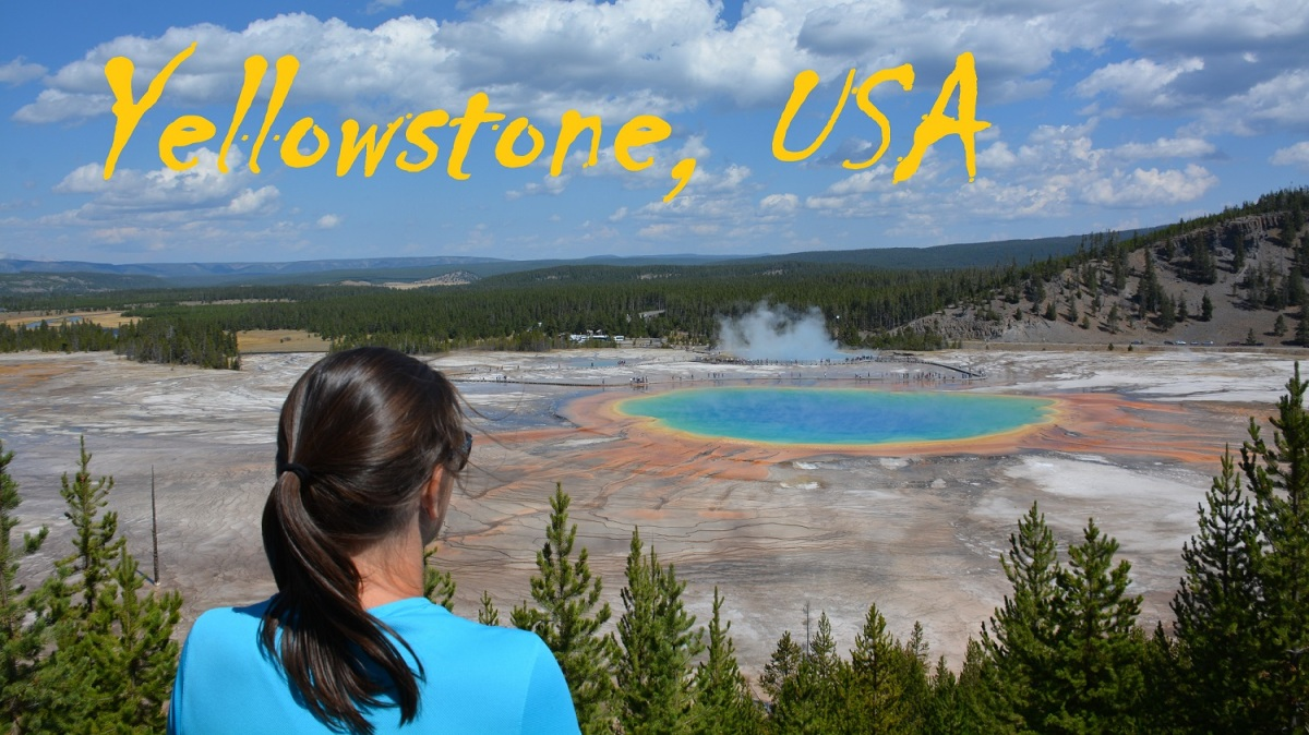 ZDA 2018: Yellowstone National Park - VIDEO